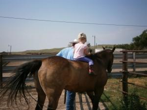 Riding bareback